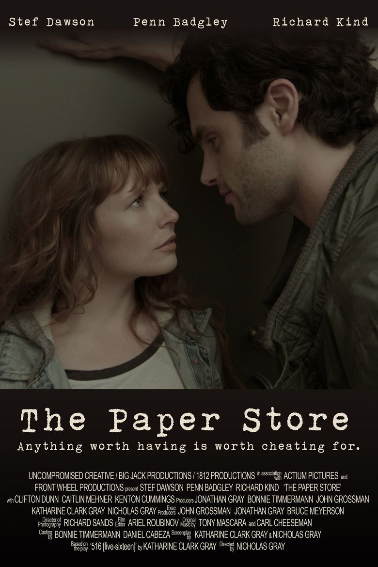 The Paper Store Poster