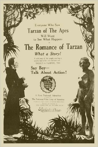 The Romance of Tarzan Poster