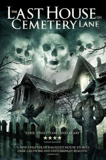The Last House on Cemetery Lane Poster