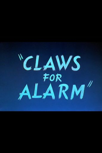 Claws for Alarm Poster