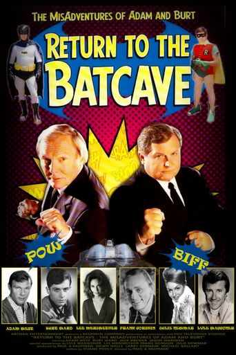 Return to the Batcave: The Misadventures of Adam and Burt Poster