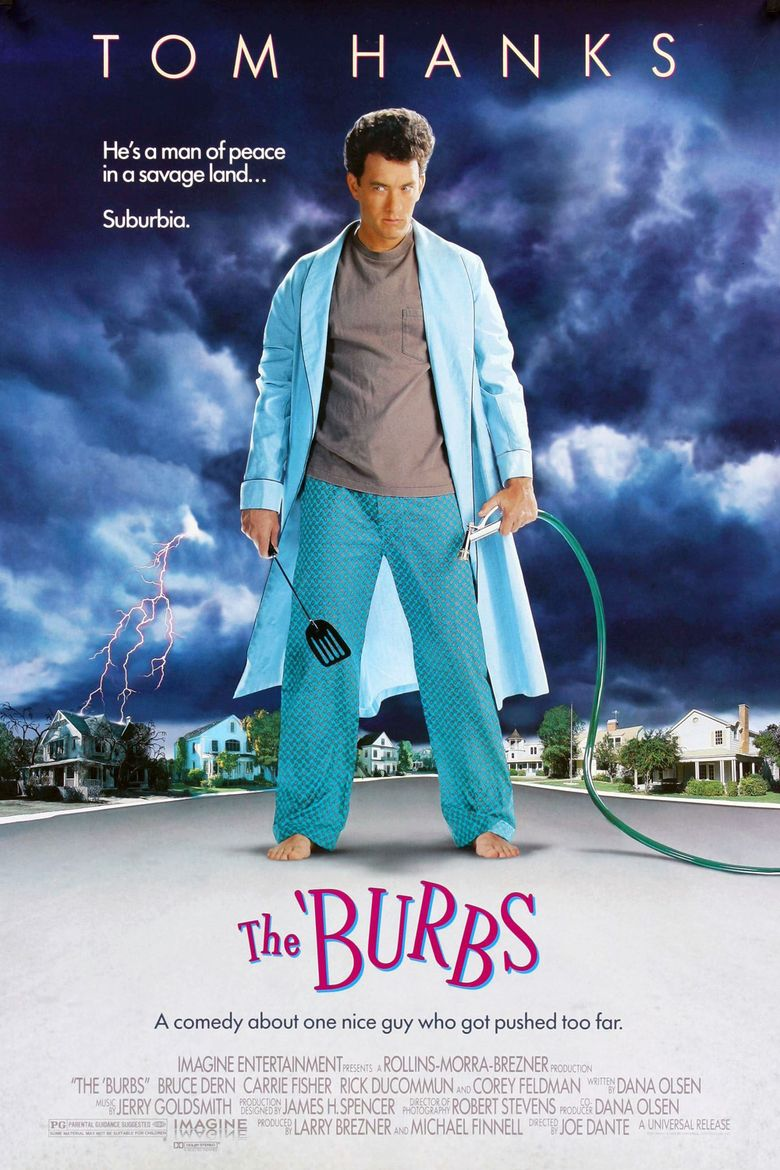 The 'Burbs Poster