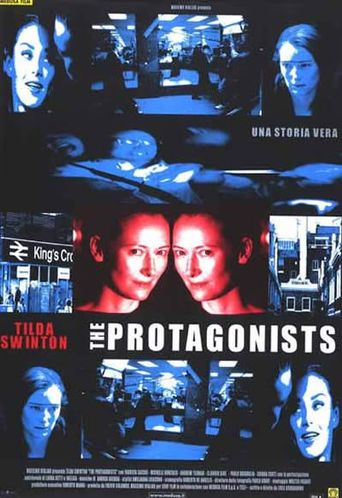 The Protagonists Poster