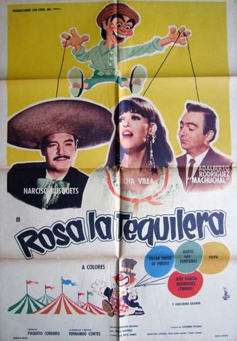 Rosa la tequilera Poster