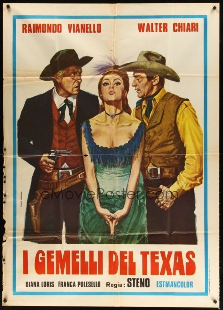 Twins from Texas Poster