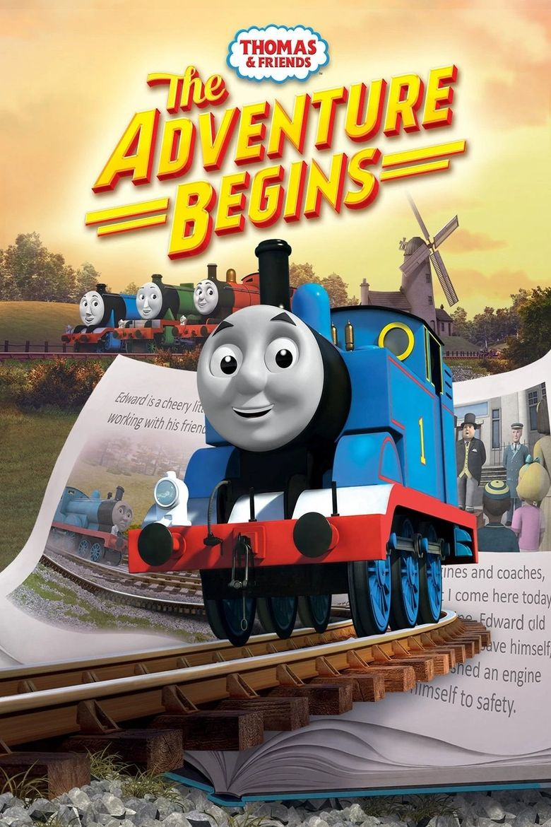 Thomas and Friends: The Adventure Begins Poster