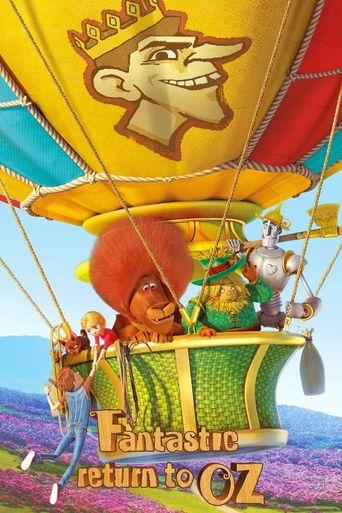 Fantastic Return To Oz Poster
