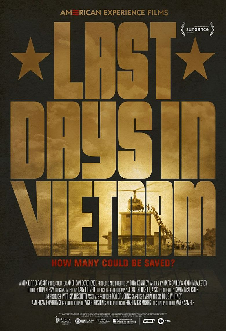 Last Days in Vietnam Poster