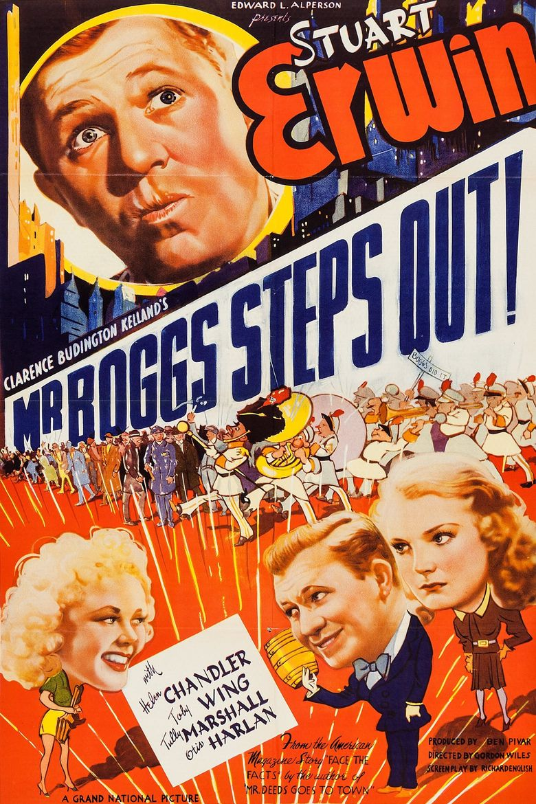 Mr. Boggs Steps Out Poster