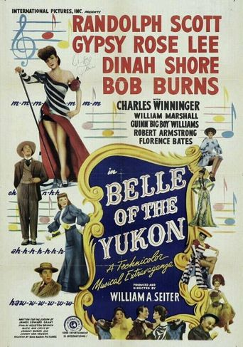 Belle of the Yukon Poster