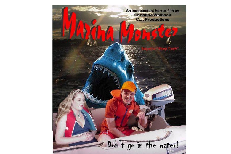 Marina Monster Poster
