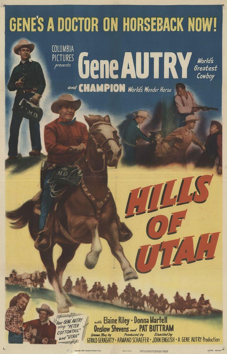Hills of Utah Poster