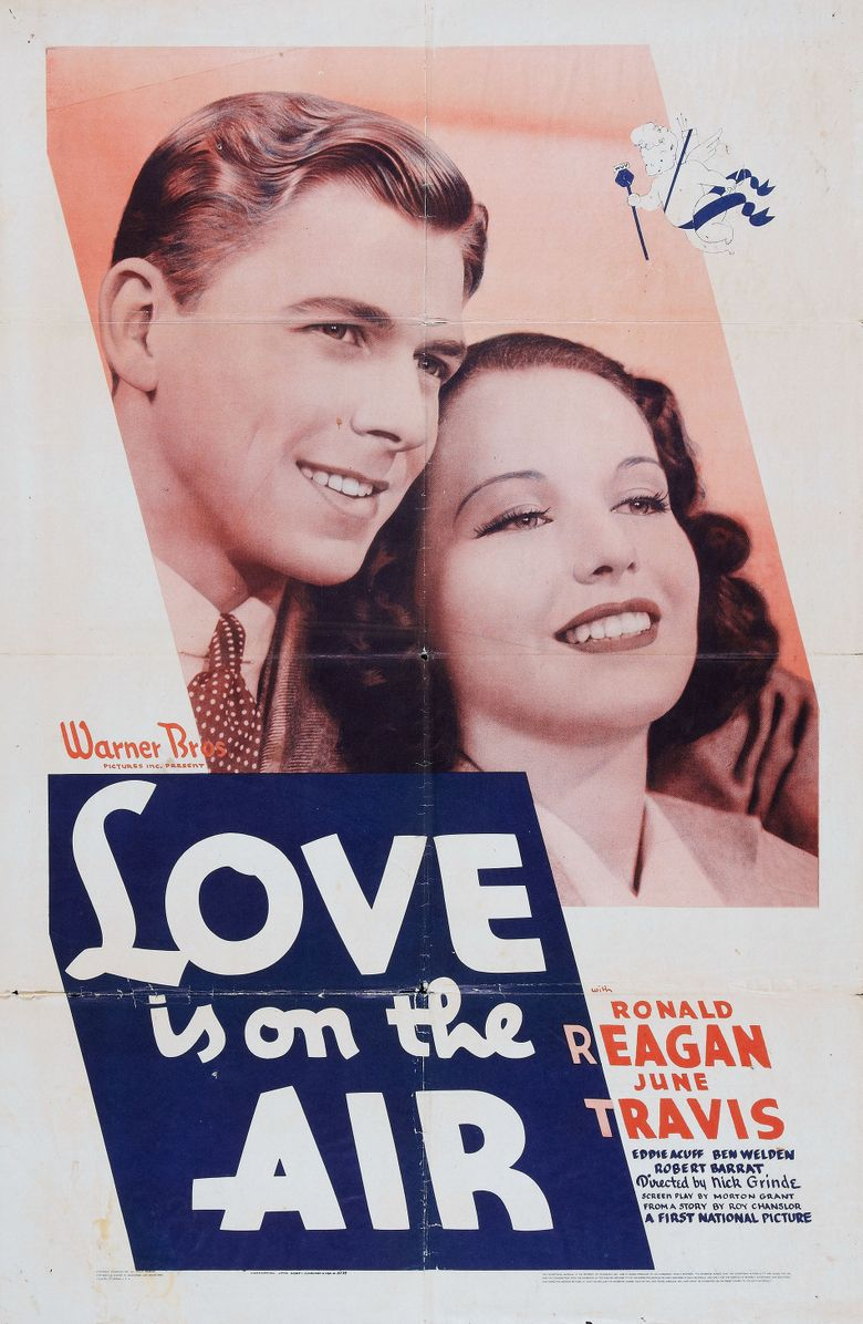 Love Is on the Air Poster