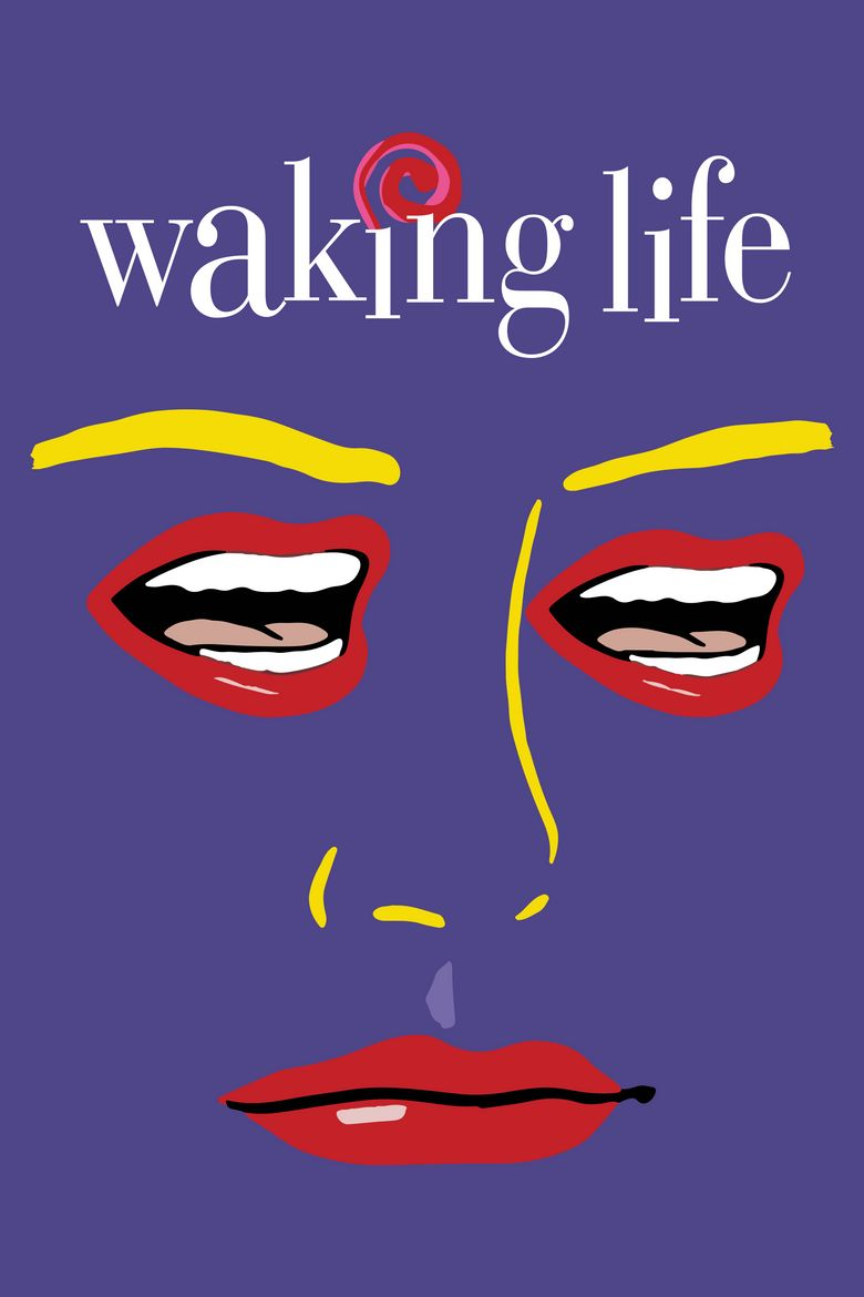 Image result for waking life poster