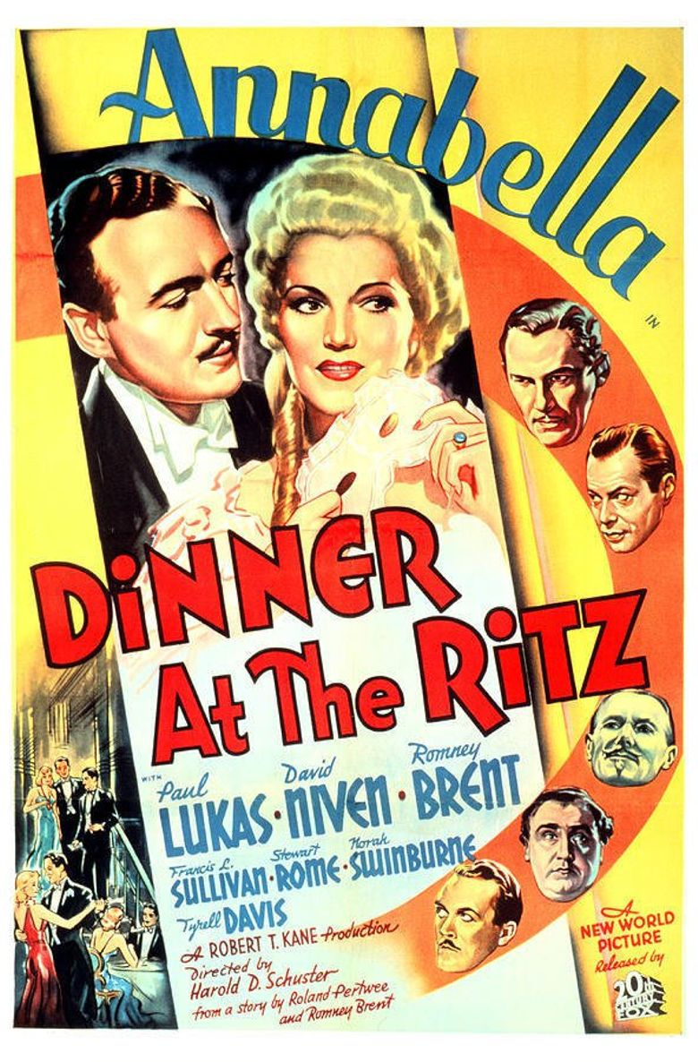 Dinner at the Ritz Poster