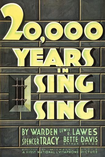 20,000 Years in Sing Sing Poster