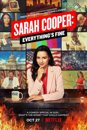Sarah Cooper: Everything's Fine Poster