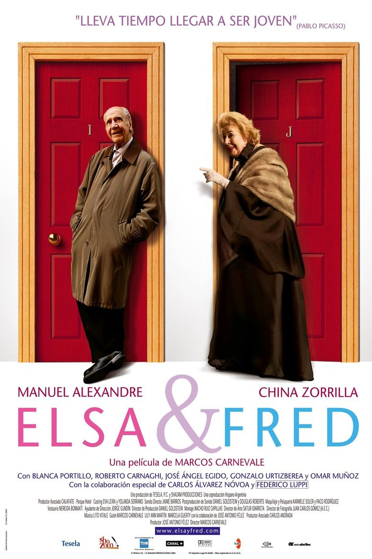 Elsa & Fred Poster