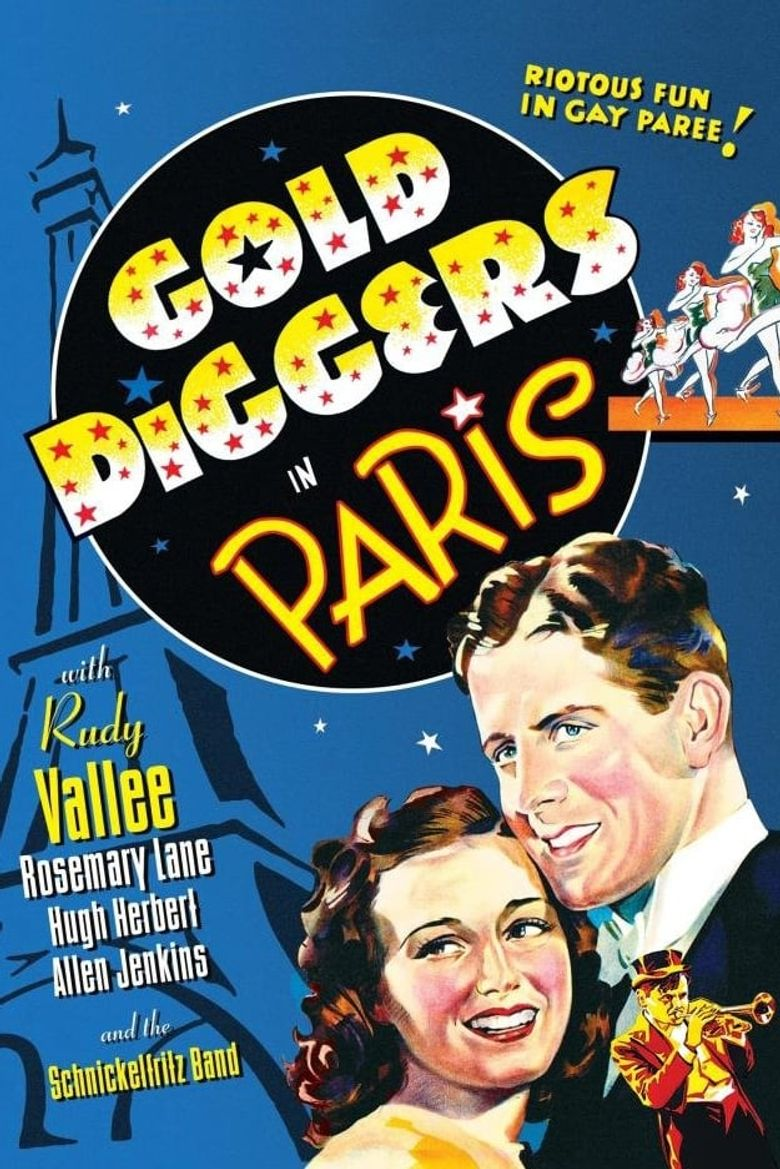 Gold Diggers in Paris Poster