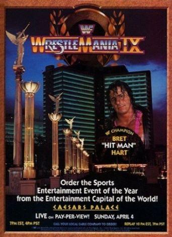 WWE WrestleMania IX Poster