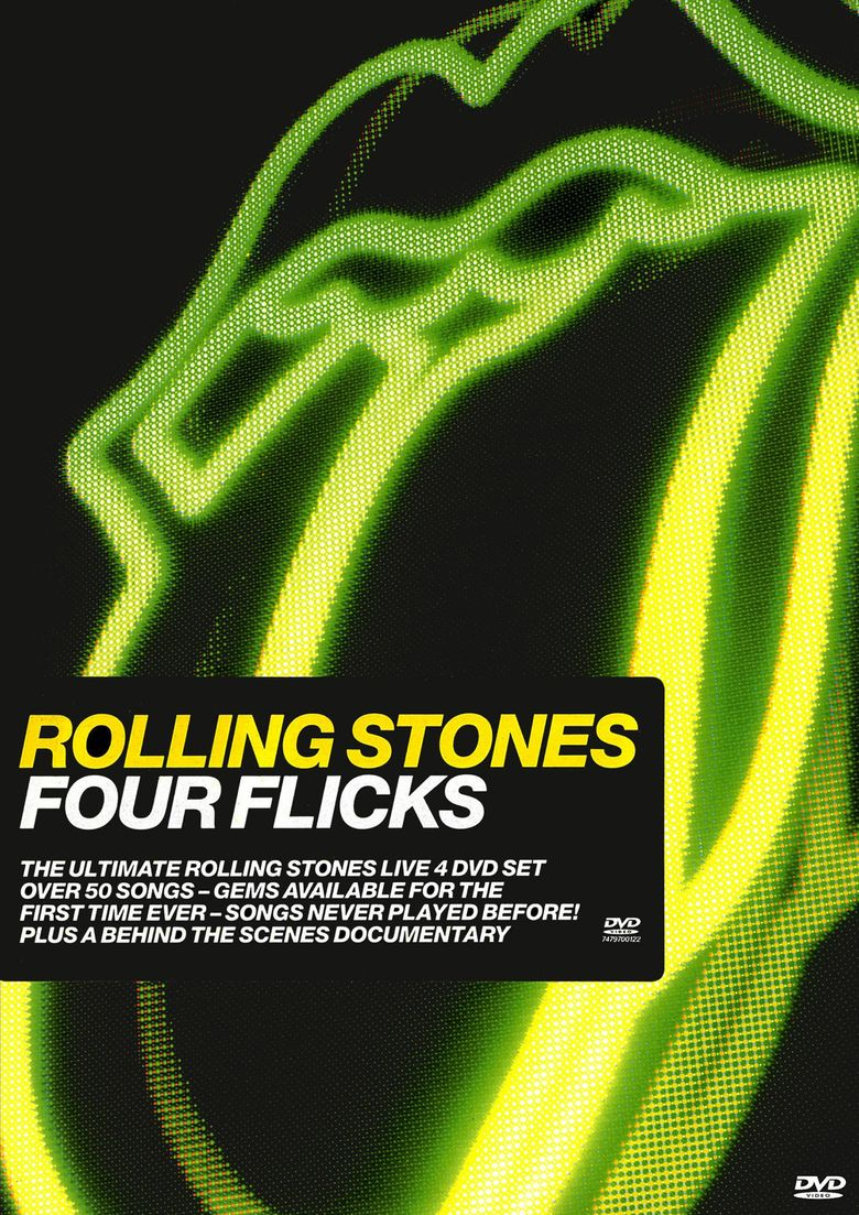 The Rolling Stones: Four Flicks - Documentary Poster