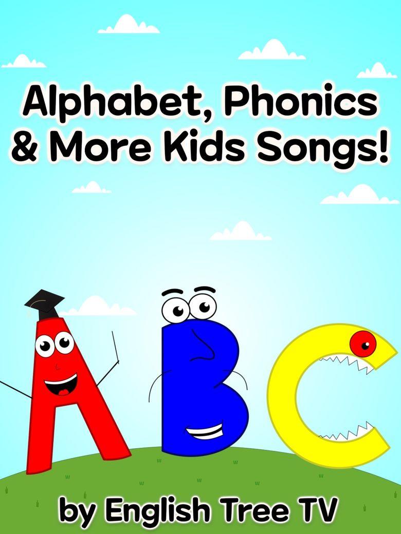 Alphabet, Phonics, & More Kids Songs! Poster