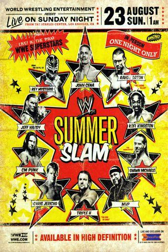 WWE SummerSlam 2009 Poster