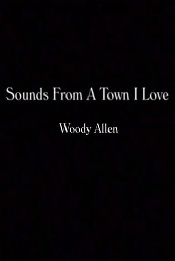 Sounds from a Town I Love Poster