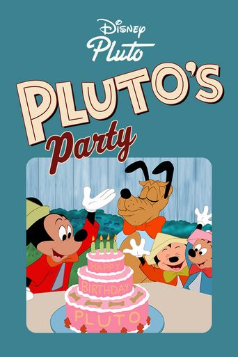 Pluto's Party Poster