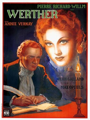 The Novel of Werther Poster