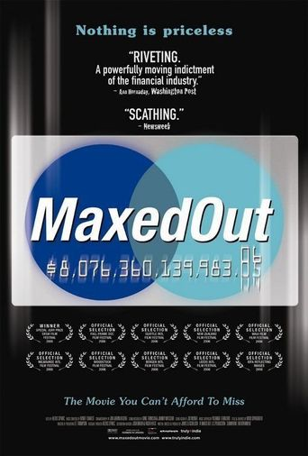 Maxed Out Poster