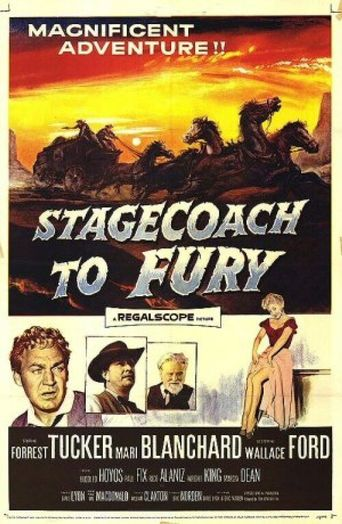 Stagecoach To Fury Poster
