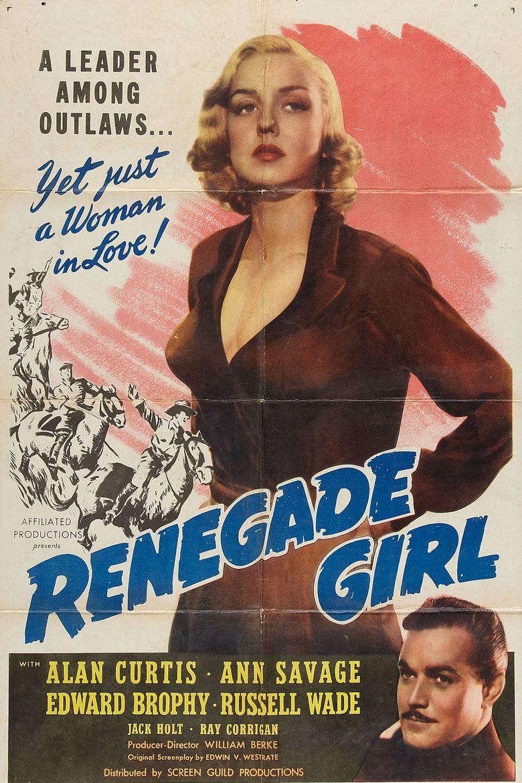 Renegade Girl Poster