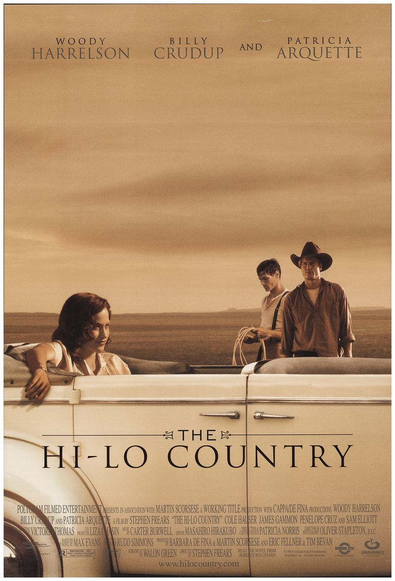 The Hi-Lo Country Poster
