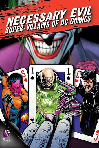 Necessary Evil: Super-Villains of DC Comics Poster