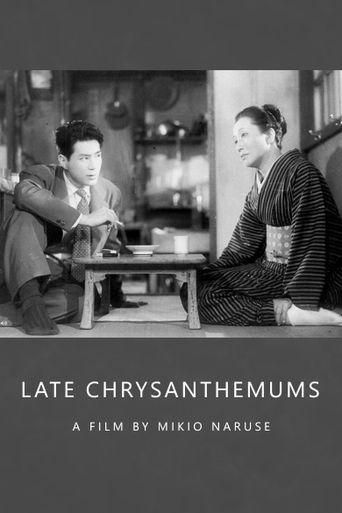 Late Chrysanthemums Poster