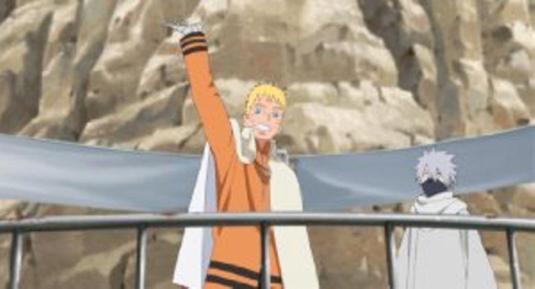 The Day Naruto Became Hokage Poster