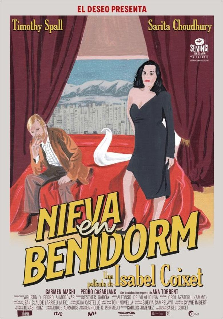 It Snows in Benidorm Poster