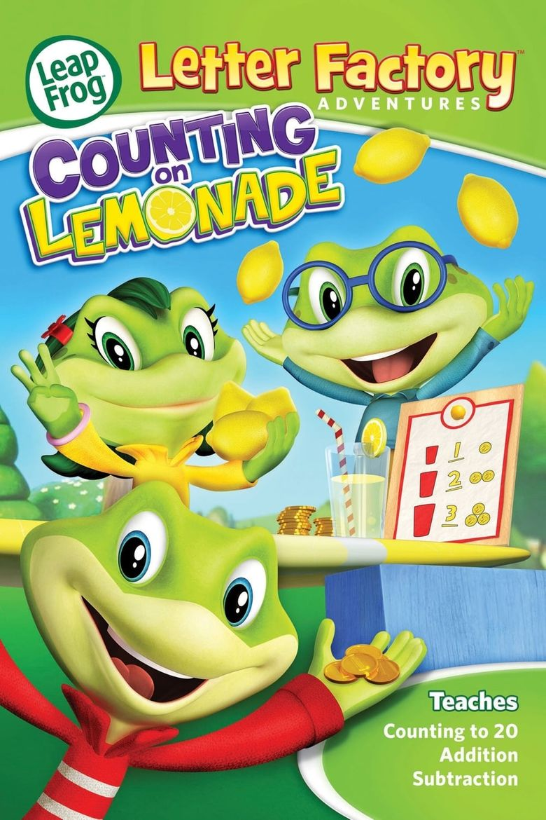 LeapFrog Letter Factory Adventures: Counting on Lemonade Poster
