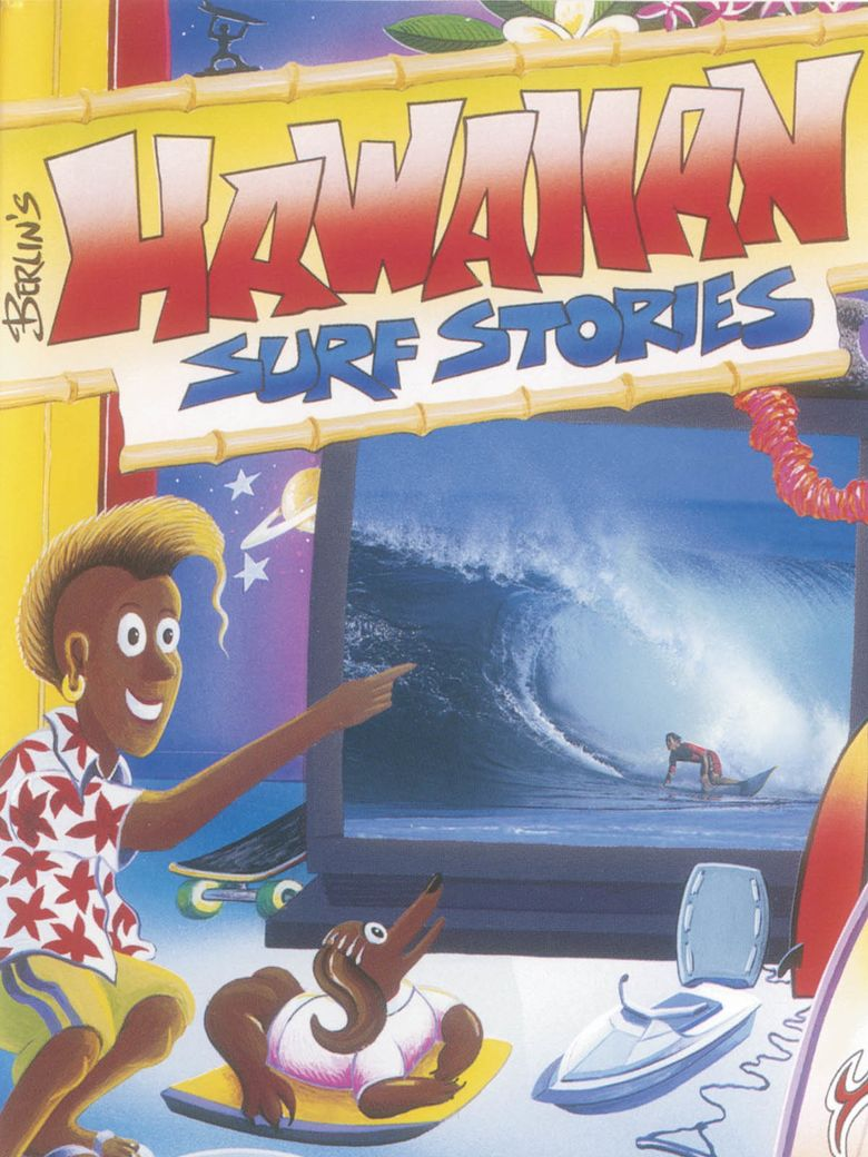 Hawaiian Surf Stories Poster