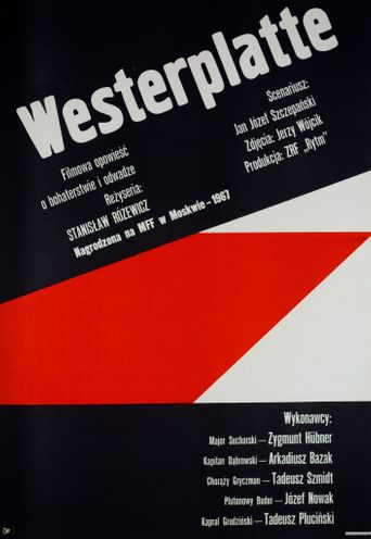 Westerplatte Resists Poster
