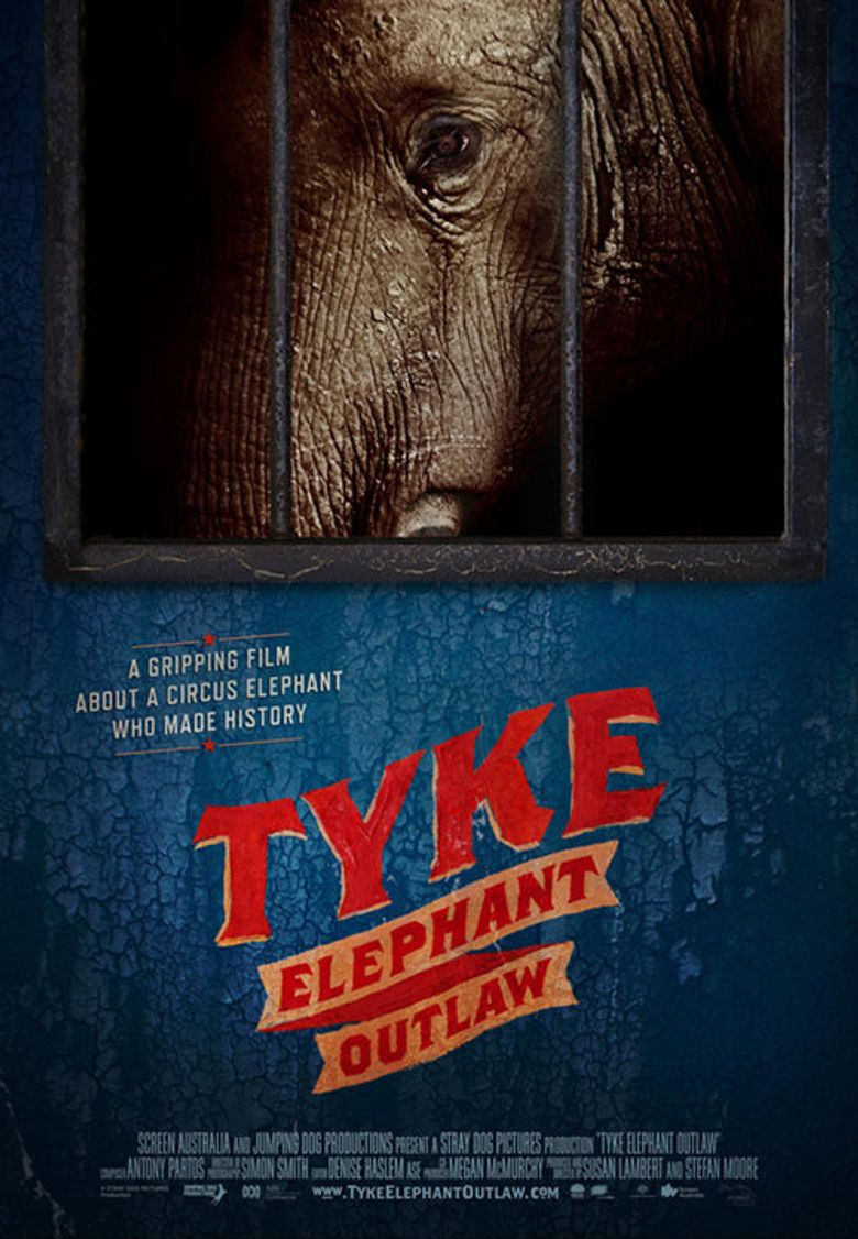 Tyke Elephant Outlaw Poster