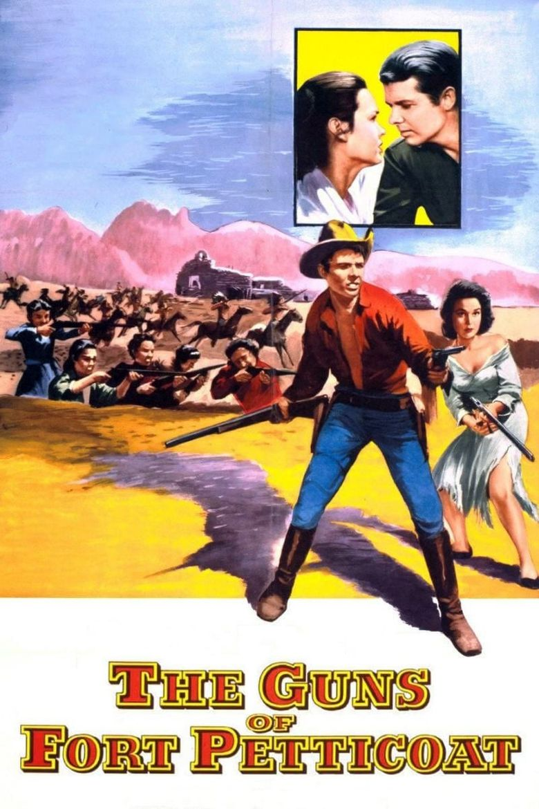 The Guns of Fort Petticoat Poster