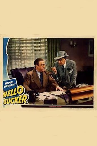 Hello, Sucker Poster