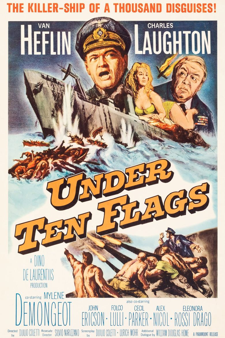 Under Ten Flags Poster