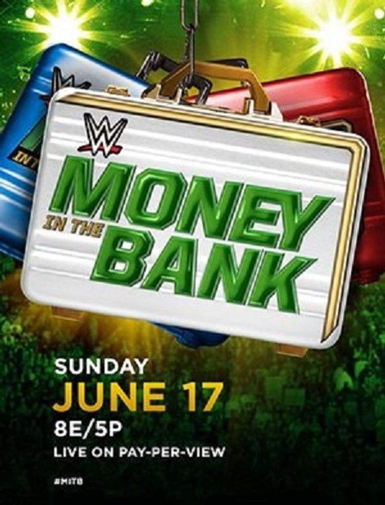 WWE Money in the Bank 2018 Poster
