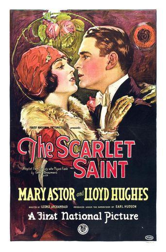 Scarlet Saint Poster