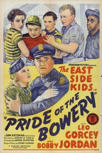 Pride of the Bowery Poster