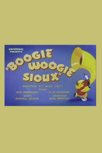 Boogie Woogie Sioux Poster