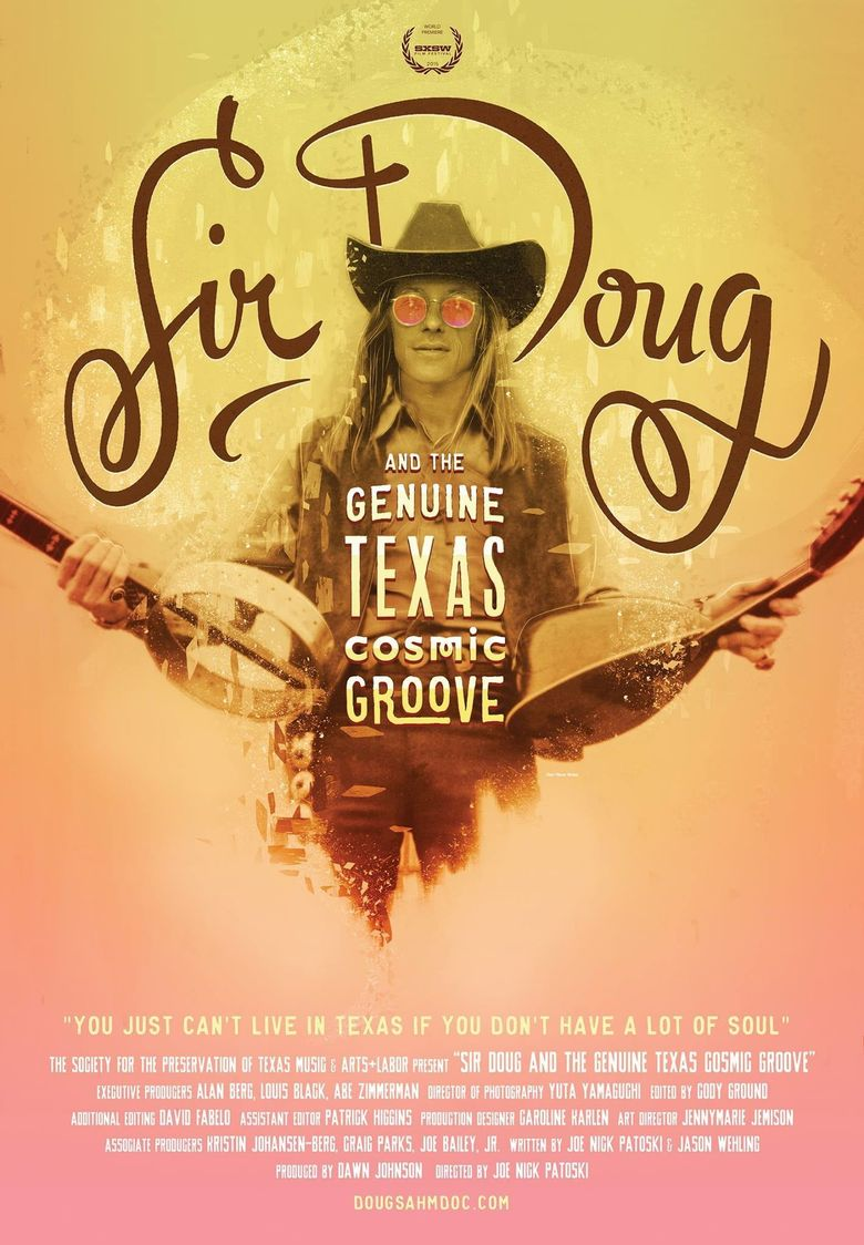 Sir Doug and the Genuine Texas Cosmic Groove Poster